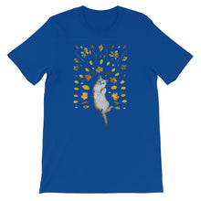 A Catful of Fruits Short-Sleeve Unisex T-Shirt