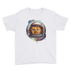 Space Cat Youth Short Sleeve T-Shirt