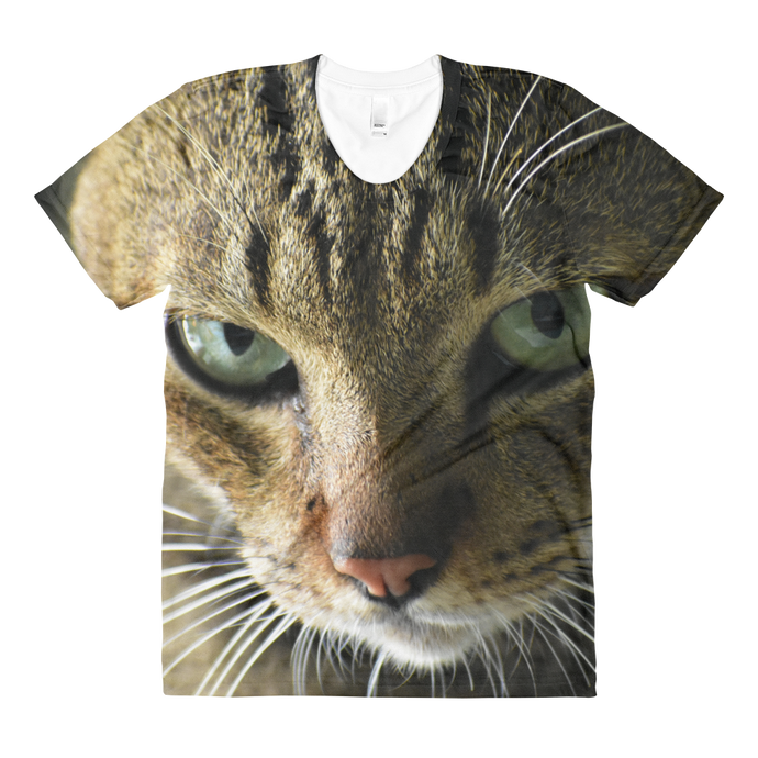 Cat's Face Women's Sublimation Shirt
