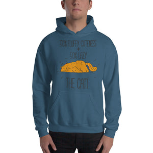 50 Percent Cuteness and Lazy Hooded Sweatshirt