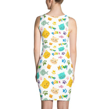 Cat Meow and Purr Sublimation Cut & Sew Dress