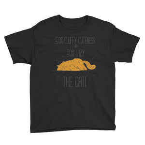 50 Percent Cuteness and Lazy Youth Short Sleeve T-Shirt