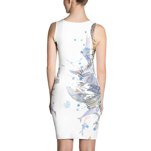 Cat Splash and Blot Sublimation Cut & Sew Dress