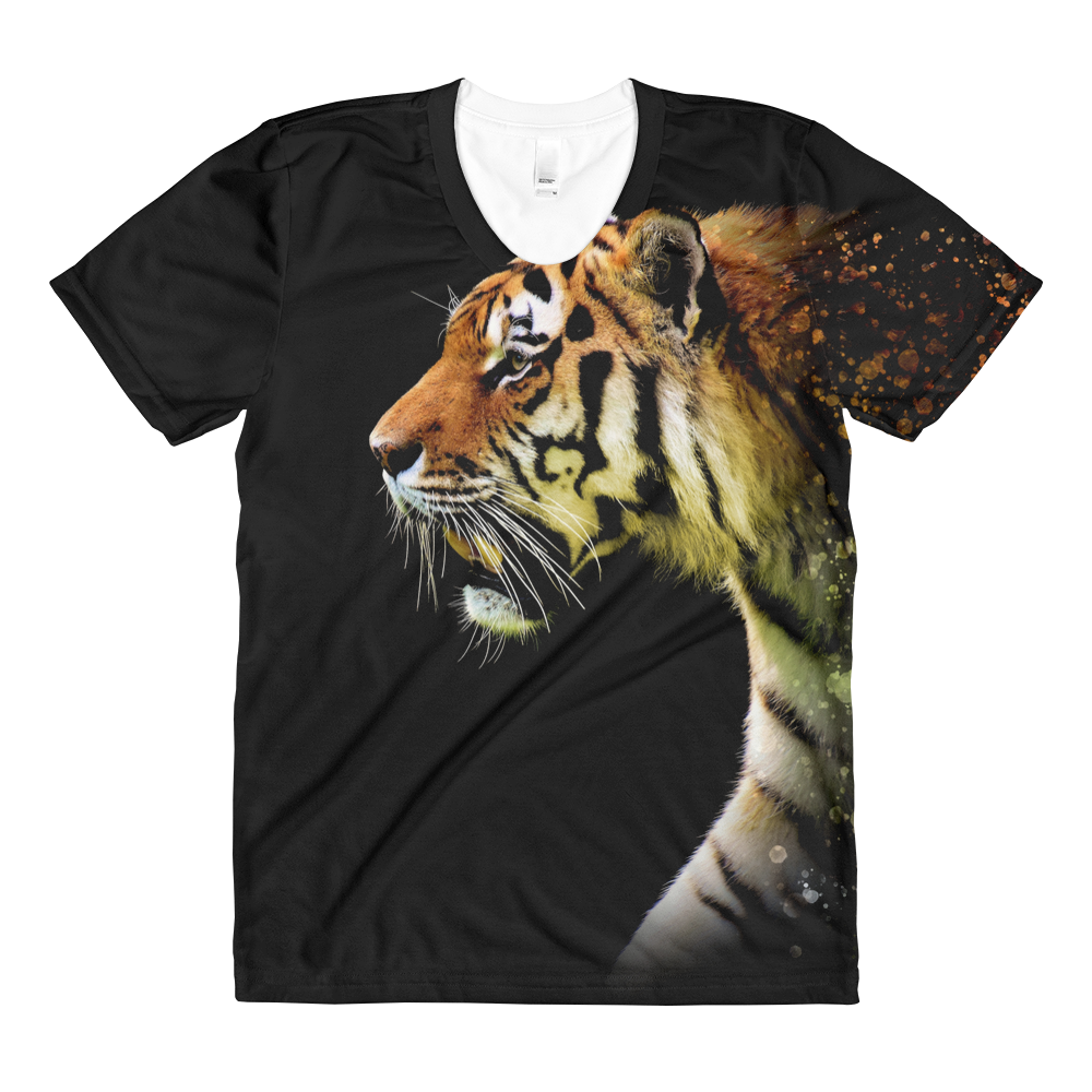 The Daddy Kitty Women's Sublimation Print Shirt