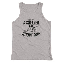 Don't Pity A Shelter Cat Adopt One - Black Youth Tank Top