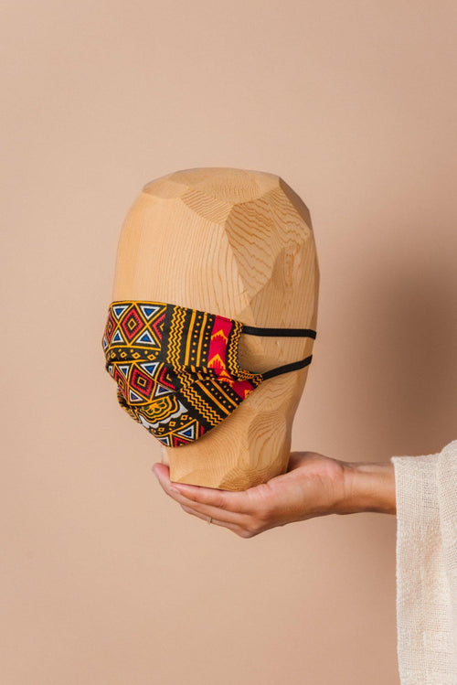 CLOTH FACE COVERING - Natural Rough