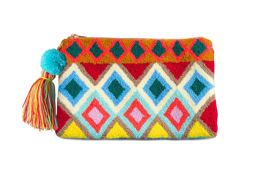 MIGTZA NET ROUGH - Handcrafted Wayuu Bag