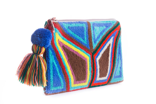 MIGTZA ANTIFAZ ROUGH - Wayuu Artisanal Handcrafted Bag - Natural Rough