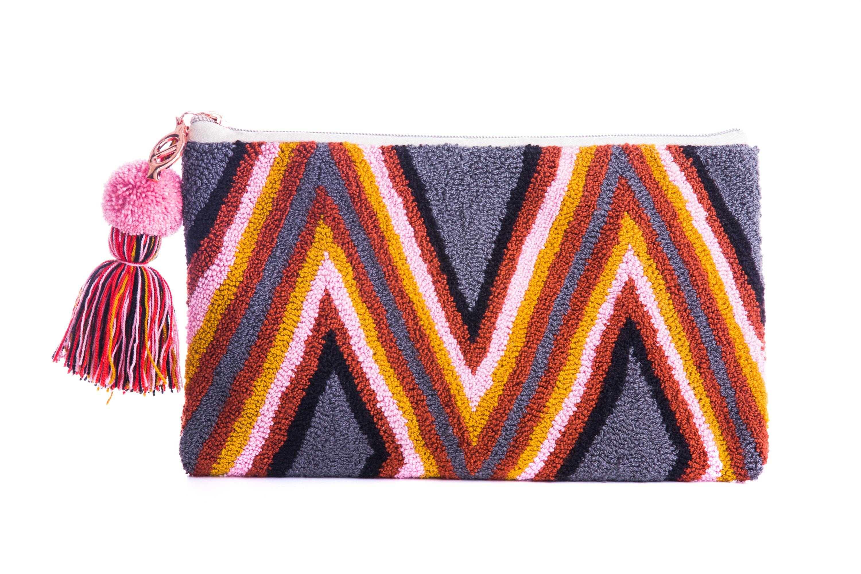MIGTZA W - HANDWOVEN WAYUU BAG - NATURAL ROUGH