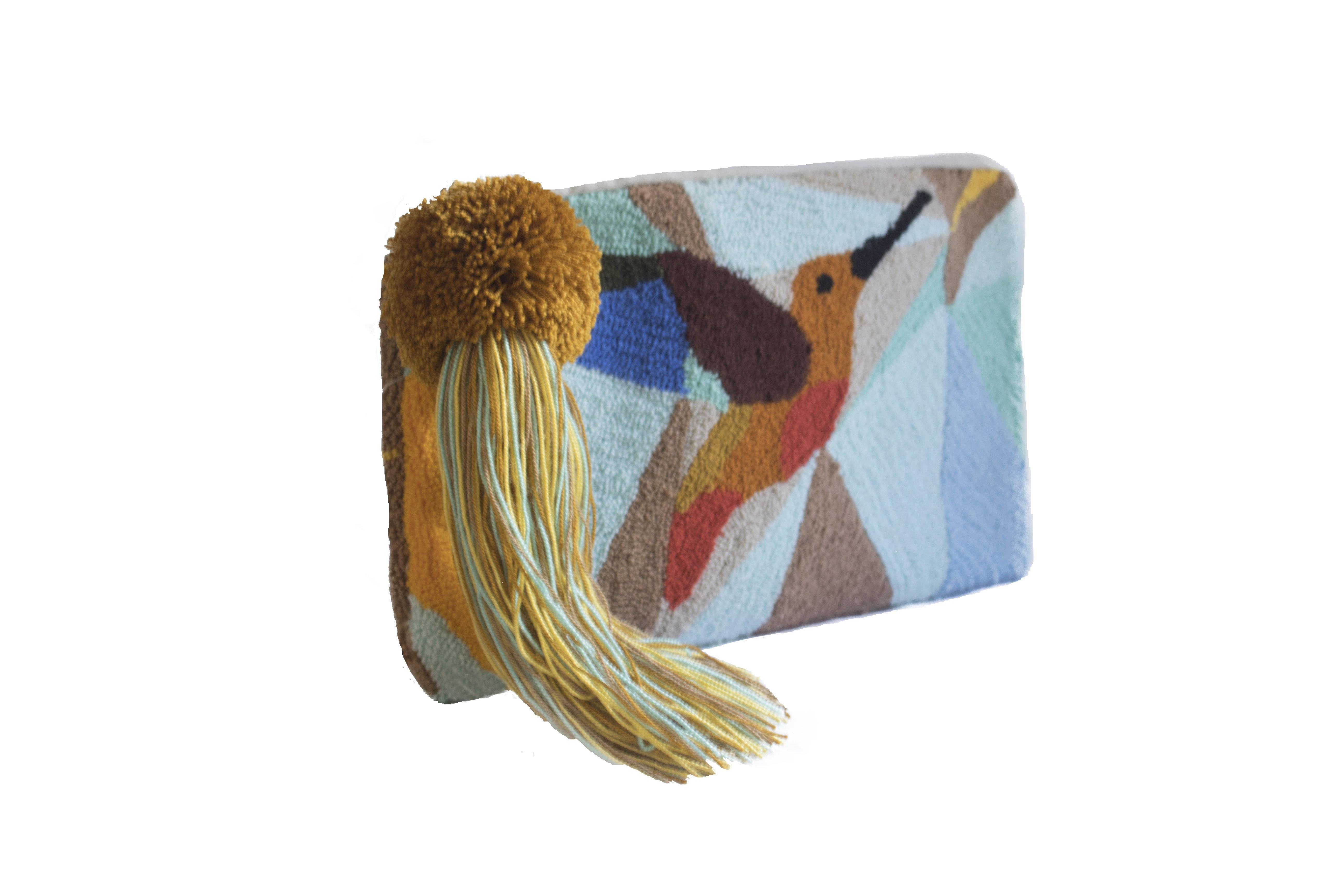 MIGTZA COLIBRI - WAYUU WOVEN BAG - NATURAL ROUGH