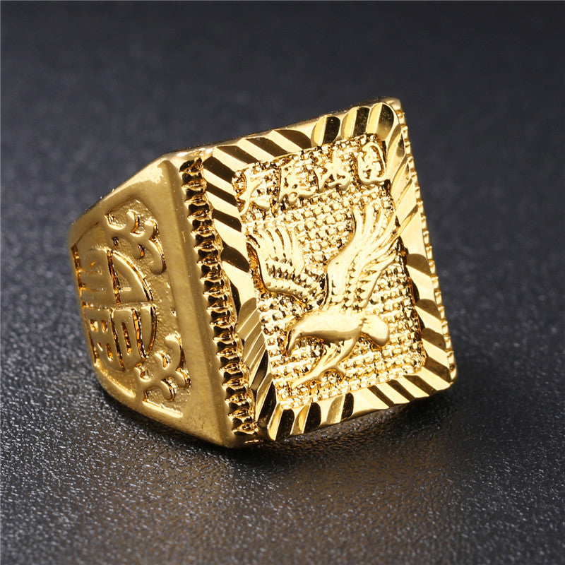 FREE Golden Eagle Ring