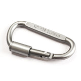 Carabiner D-Ring with Faster Lock - 2Pcs