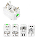 Universal Travel Adapter w/ USB Ports -   EU UK US AU +