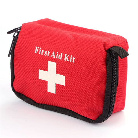 Emergency First Aid Kit Bag Pack Home Travel Sport Wilderness Survival