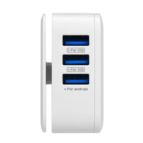 Portable 3 Port USB charger