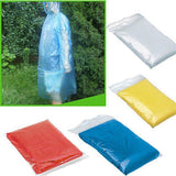 10pc Disposable Adult Emergency Rain Coat/Poncho