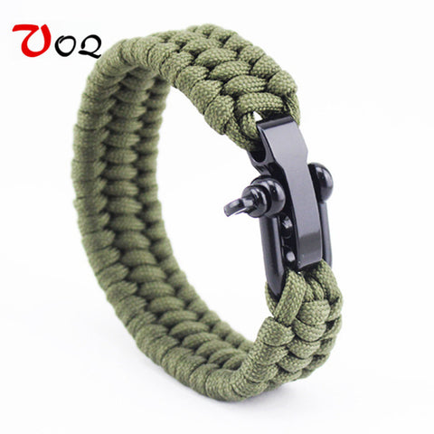 Outdoor Rescue Paracord Bracelet
