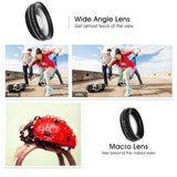 Ultra Wide Angle + 12.5x Macro Lens for Mobile Phones