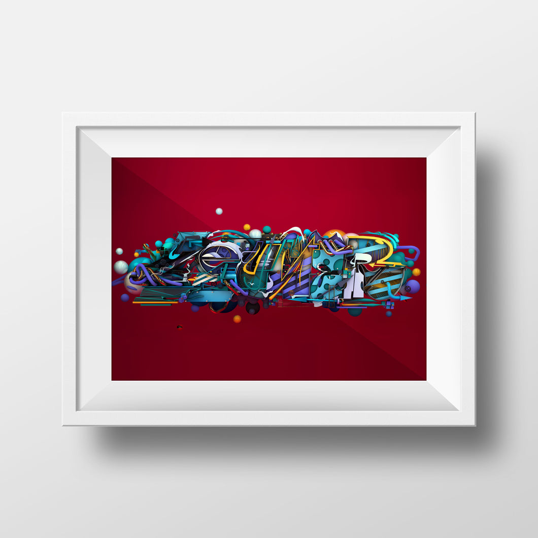 Berst x Bazic: Limited edition digital print 2