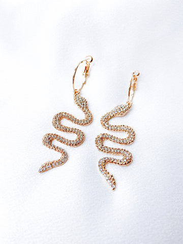 Angela Earrings In Gold