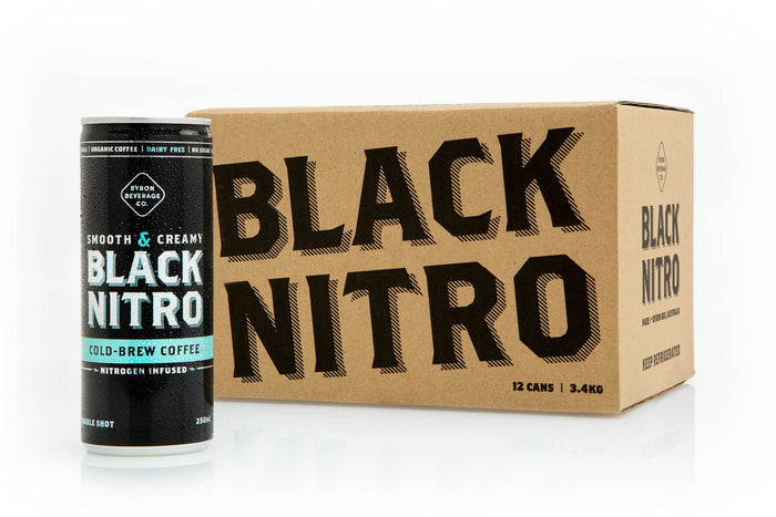 BLACK NITRO COLD BREW COFFEE CASE OF 12