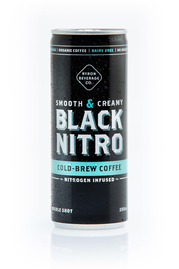 BLACK NITRO COLD BREW COFFEE