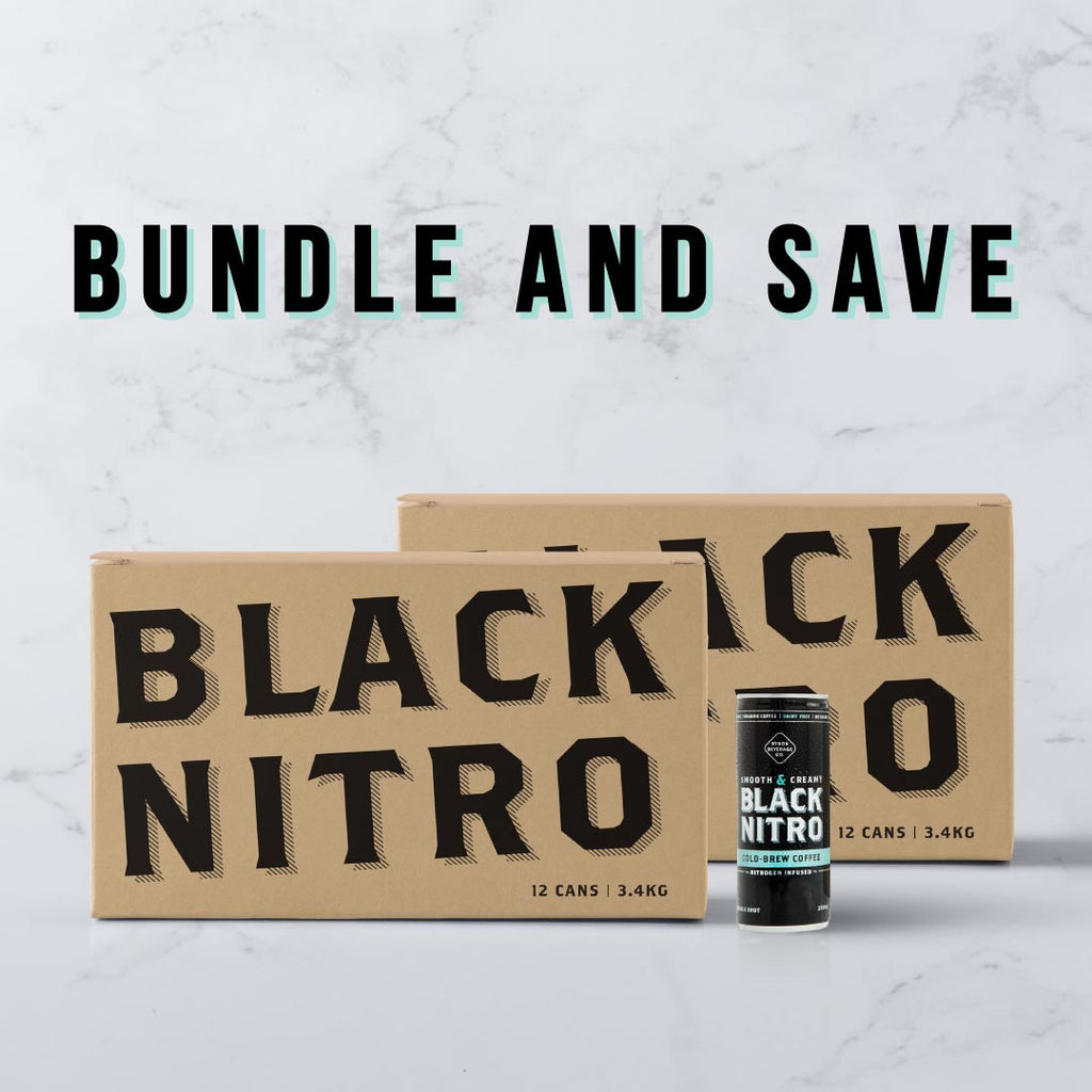 Black Nitro Cold Brew 12 Pack Bundles