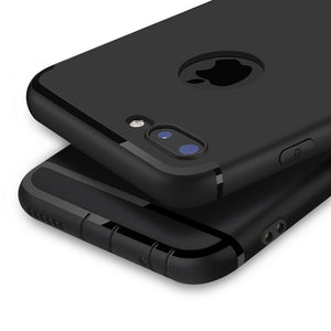 Matte Soft Silicon Case for iPhone