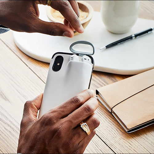 AirPods iPhone Case Holder