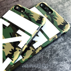 Luxury Off-White iPhone Case