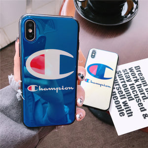 Champion Blu-ray laser iPhone Case
