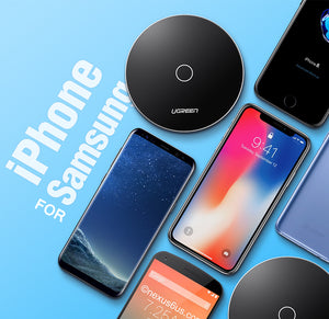 Ugreen Qi Wireless Charger for iPhone 8/X And Samsungs