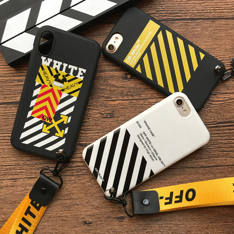 sneakers for cheap 4060e 272b7 Gold Off-White iPhone Case – The Deals Club