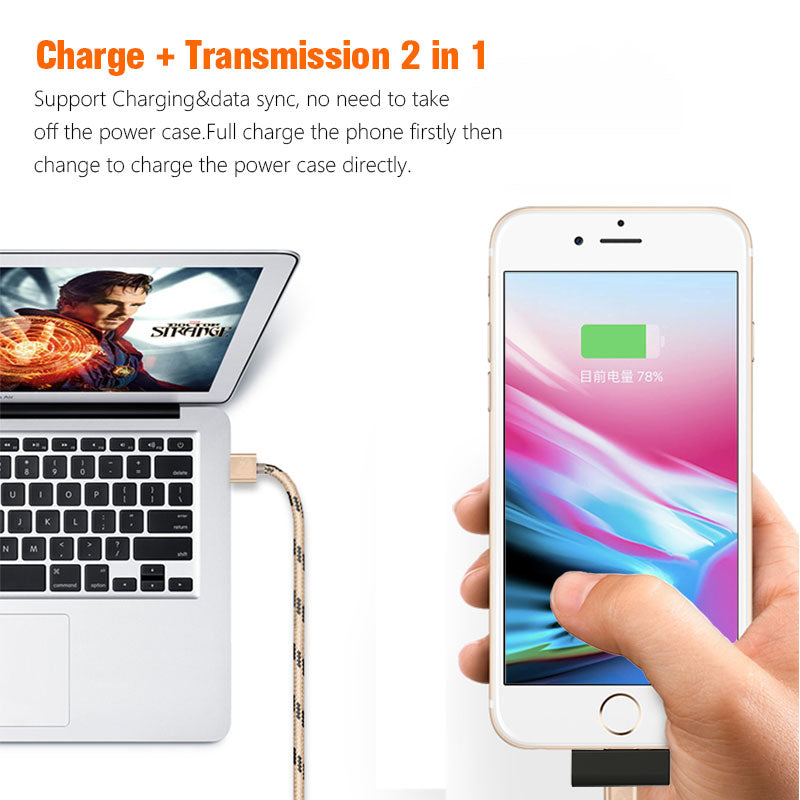 Mini 4500mAh Portable Charger For All iPhone's