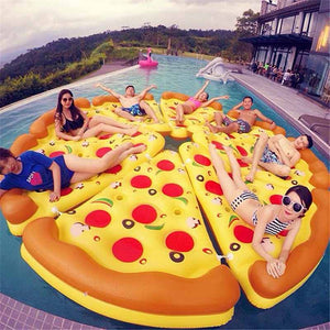 Giant Pizza Pool Float - 70 Inches