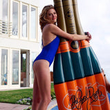 Giant Champagne Bottle Pool Float 72in