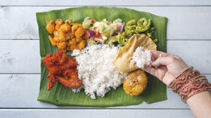 Benefits of eating with hands - south Indian way of eating