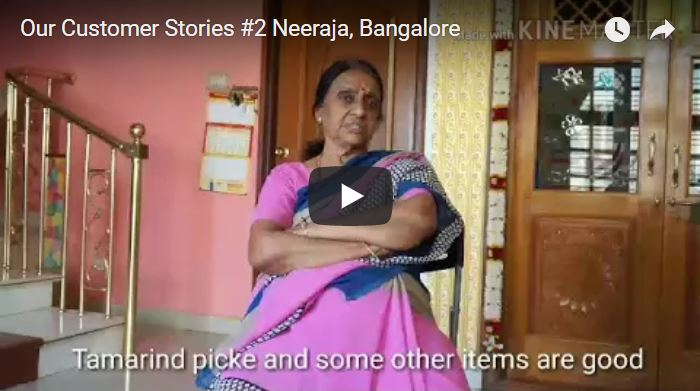 Our Customer Stories - #2 Neeraja, Bangalore