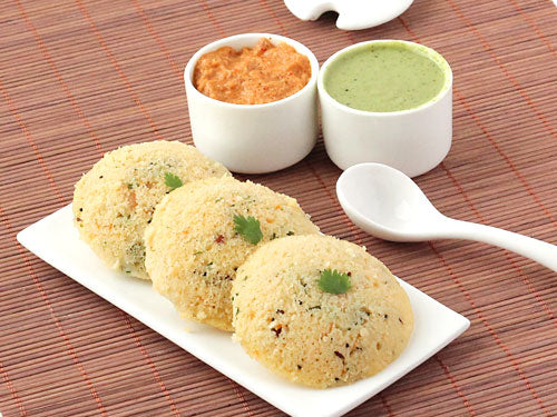 Nutritional facts of Rava Idli
