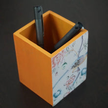 Pen Stand - Mustard color