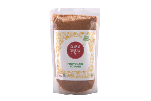 Puliyogare Powder - Sambar Stories