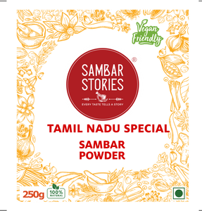Tamil Nadu Special Sambar Powder - Sambar Stories