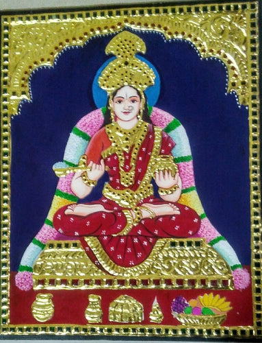 Lakshmi Tanjore Painting - Sambar Stories