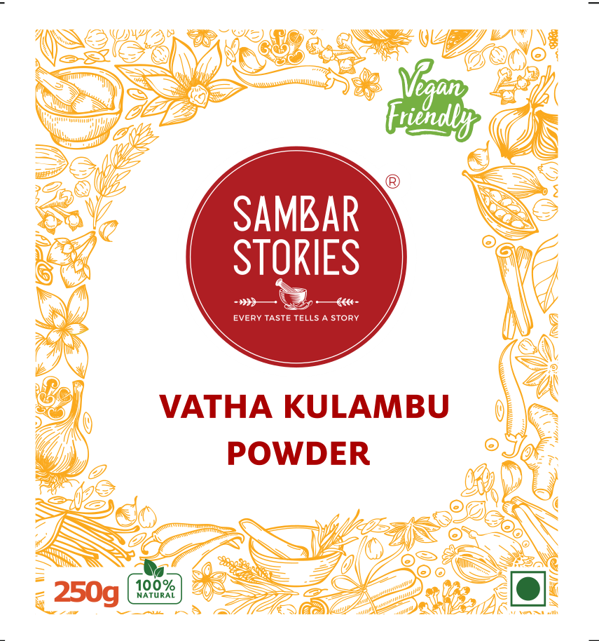 Vatha Kulambu Powder - Sambar Stories