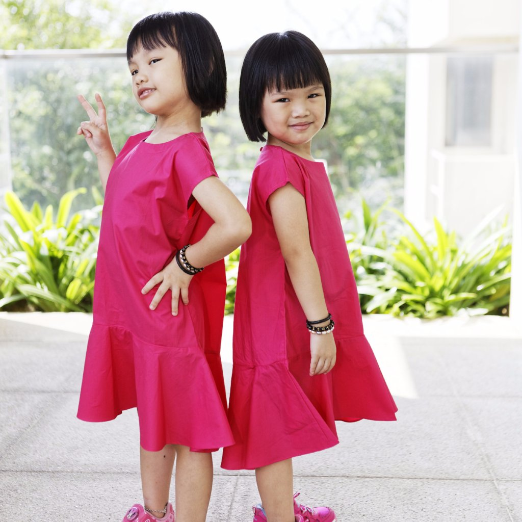 Xi Ting and Jazslyn Dress Set - Princess Jazslyn Dress