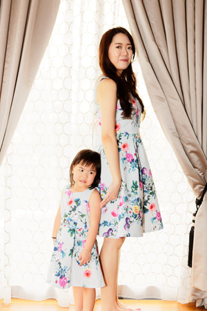 Felicia and Chloe Dress Set - Mummy Felicia Dress