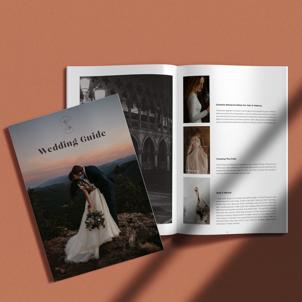 Customizable Wedding Guide Template - Minimalistic