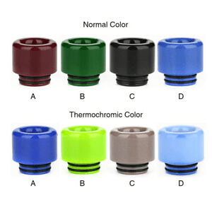Resin Thermochromic 810 Drip Tip Nimbus Vapour