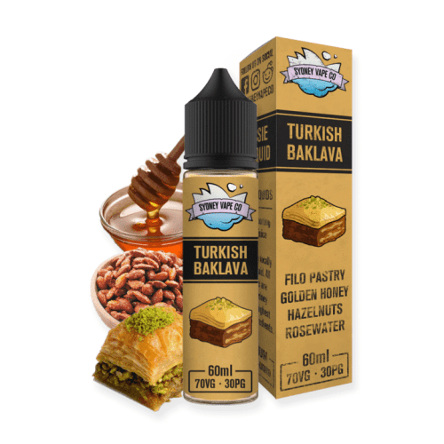Sydney Vape Co - Turkish Baklava Nimbus Vapour