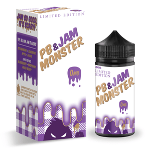 Jam Monster - Peanut Butter & Grape Jam - Nimbus Vapour